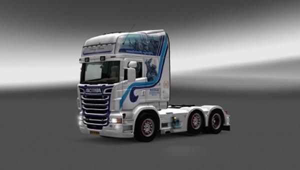 Scania Viking Power Skin