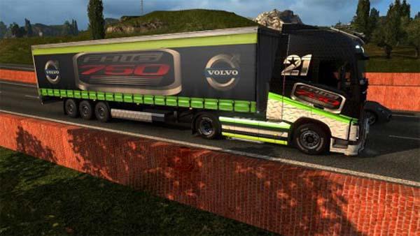 Skin Volvo fh16 750