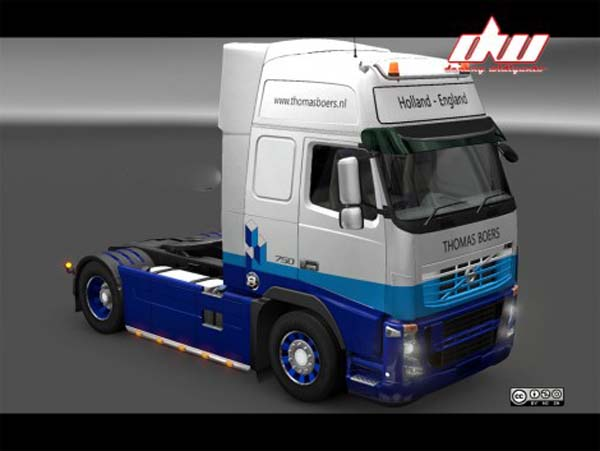 Thomas Boers Skin for Volvo FH16 Classic or FH16 2009 By Ohaha