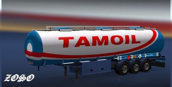 Trailer fuel cistern Tamoil