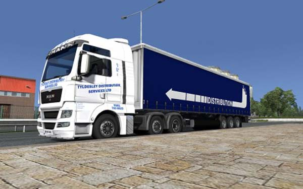 Tyldesley Distribution MAN TGX Combo Pack
