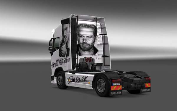 Volvo FH 2012 Paul Walker Skin