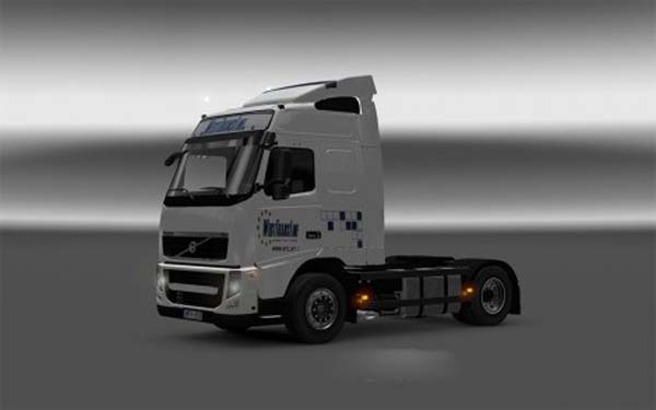 Volvo FH13 West Trans Line + Real Volvo Mirrors