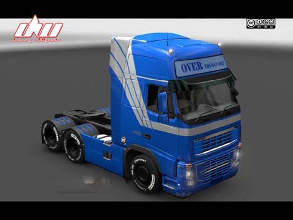 Volvo Over Transport Skin