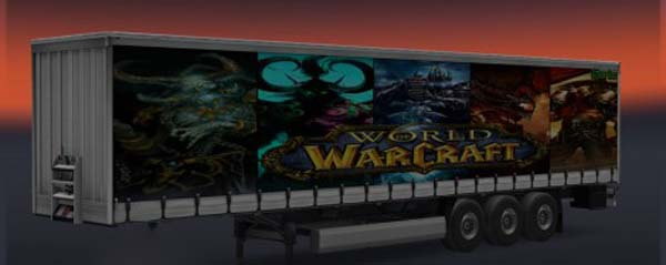 World of Warcraft Trailer Skin