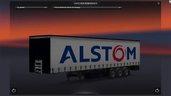 Alstom Trailer