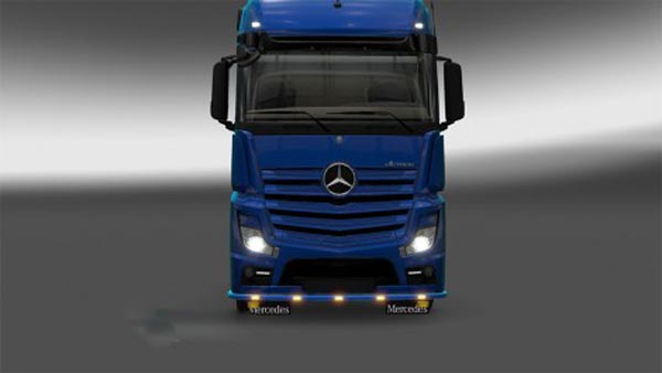 Bottomgrill Mercedes actros MPIV
