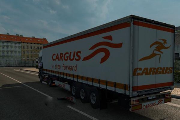 Cargus Courier Trailer