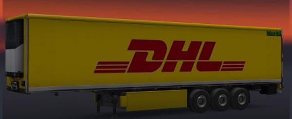 DHL Trailer Skin