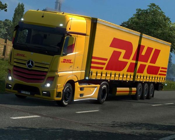 DHL skin for New Actros 2014