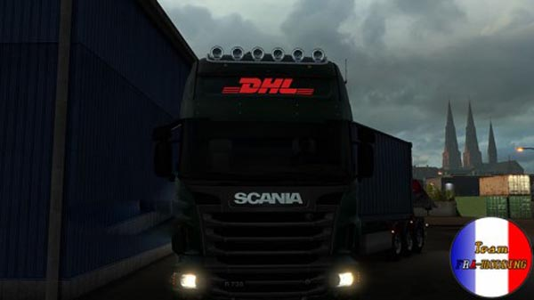 Decals Scania