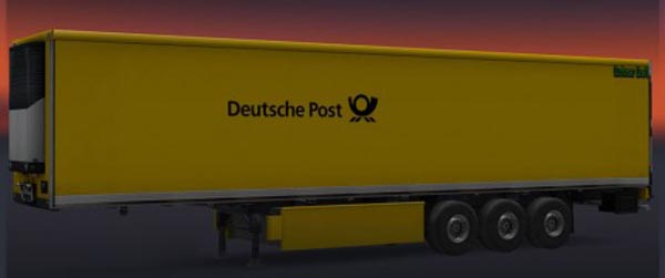 Deutsche Post Trailer Skin