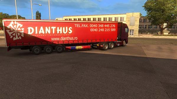 Dianthus Transport Trailer