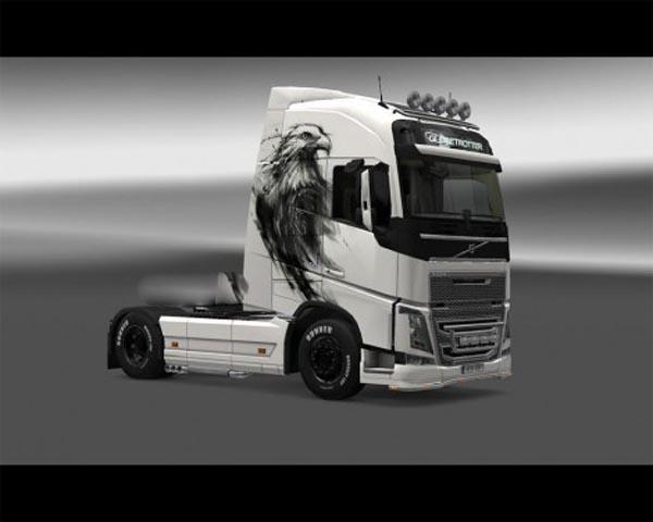 Eagle skin for Volvo