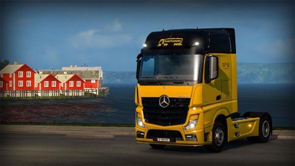 Food Tankers – Mercedes Benz Mp4