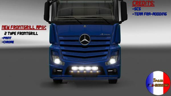 Frontgrill Mercedes Actros MPIV