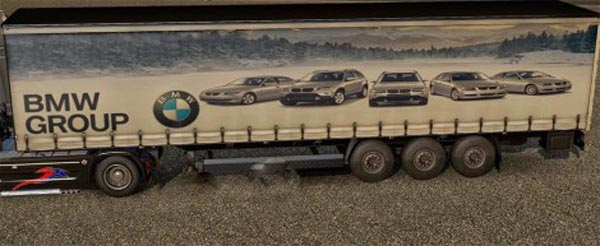 Group BMW trailer