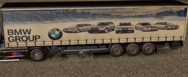 Group BMW trailer