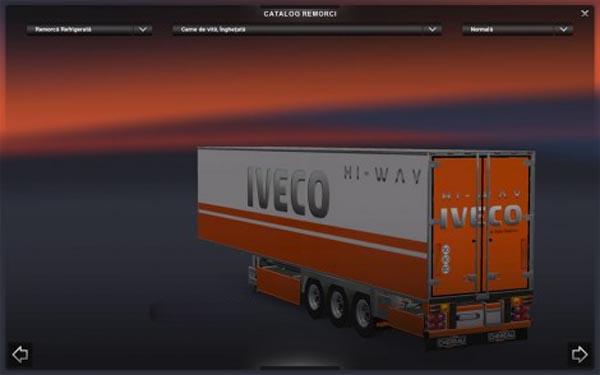 Iveco HiWay-Trailer