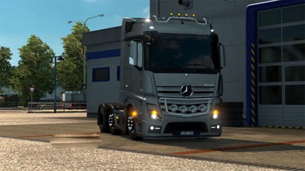 MB New Actros Lower