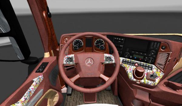 Mercedes Actros MP4 2014 Exclusive Interior