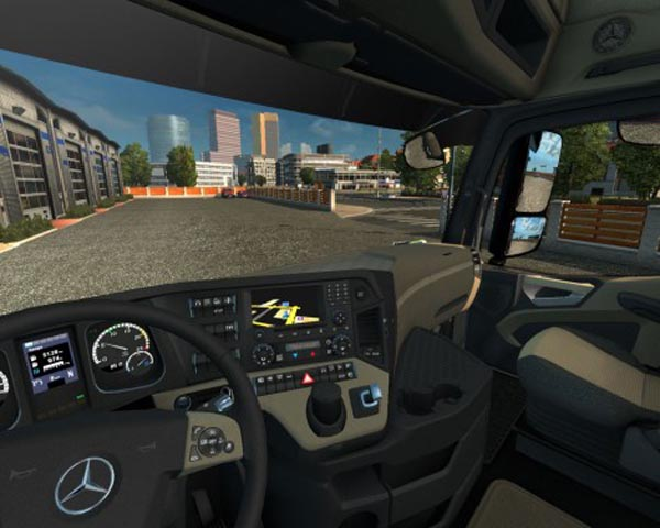 Mercedes Actros MP4 2014 Interior