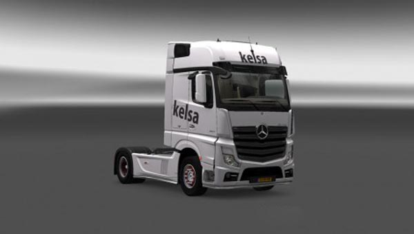 Mercedes Actros MP4 2014 Kelsa Skin