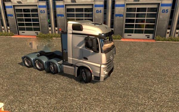 Mercedes Actros MP4 8×4 Chassis