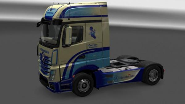 Mercedes Actros MP4 Cafrrey International Skin