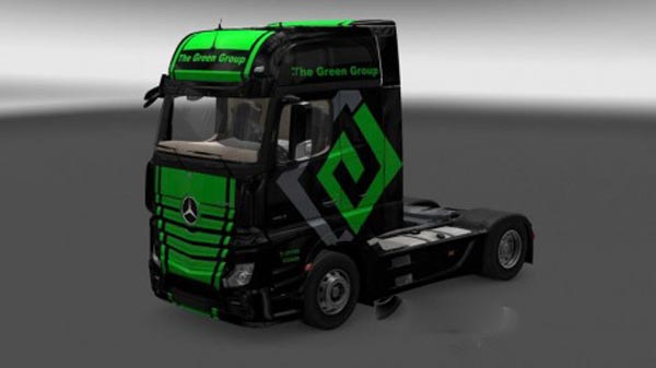 Mercedes Actros MP4 The Green Group Skin