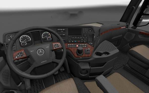 Mercedes Actros MPIV 2014 Simply Elegance Interior