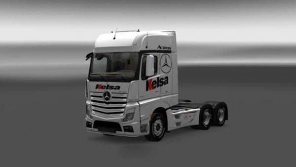 Mercedes Actros MPIV Kelsa Skin
