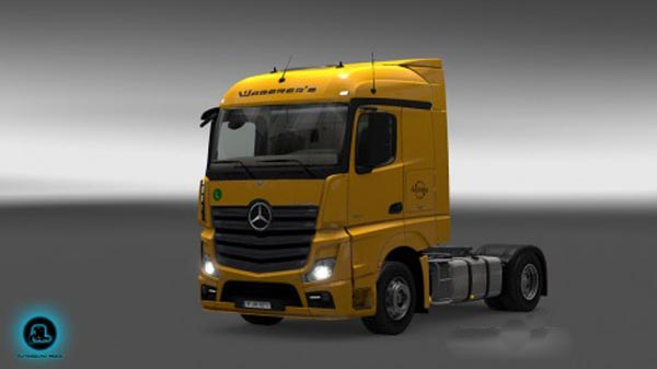 Mercedes Actros MPIV Waberers Skin Pack