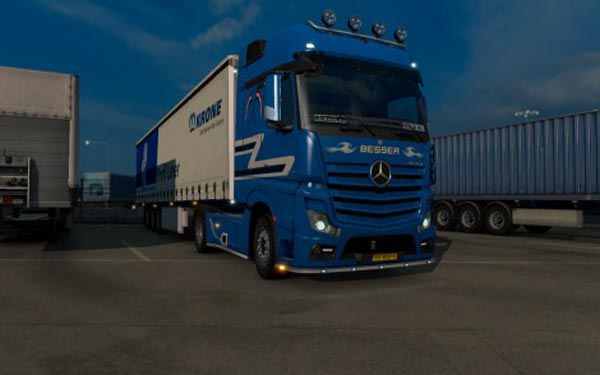 Mercedes-Benz Actros MP4 – BESSER Paintjob
