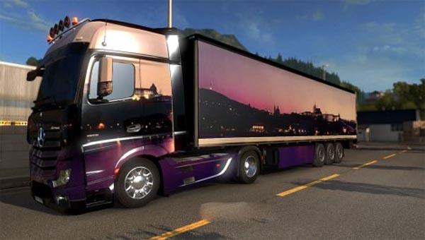 Mercedes MP4 skin + trailer
