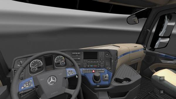 Mercedes MPIV 2014 Blue Carbon Interior