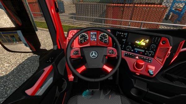 Mercedes MPIV Redline Interior