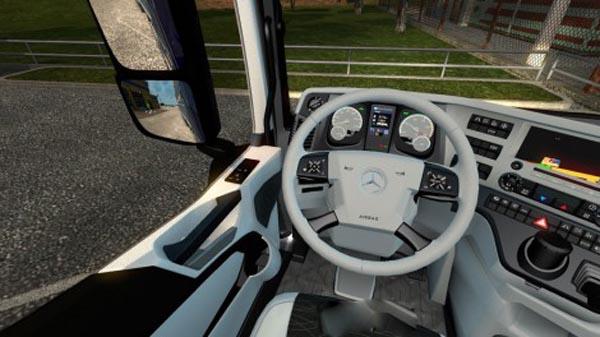 Mercedes MPIV White Grey Interior