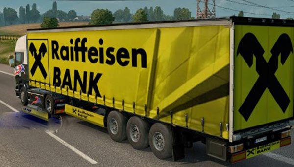 Raiffeisen Bank Trailer Skin