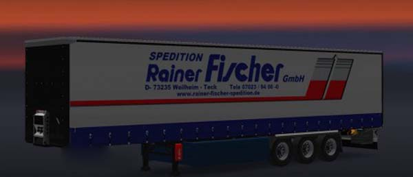 Rainer Fischer Spedition Trailer
