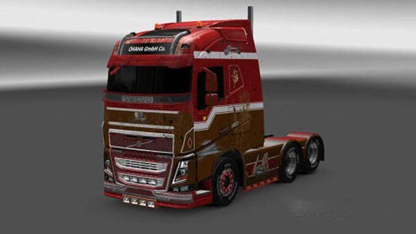 Rusty Pin Up Skin for Ohaha Volvo FH 2013