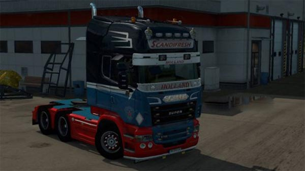 Scandifresh scania RJL skin