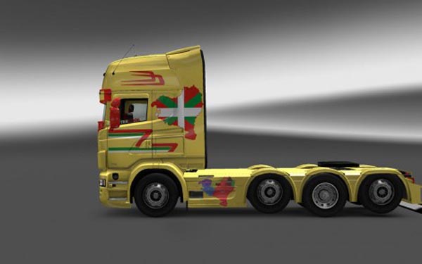 Scania Basque Country Skin