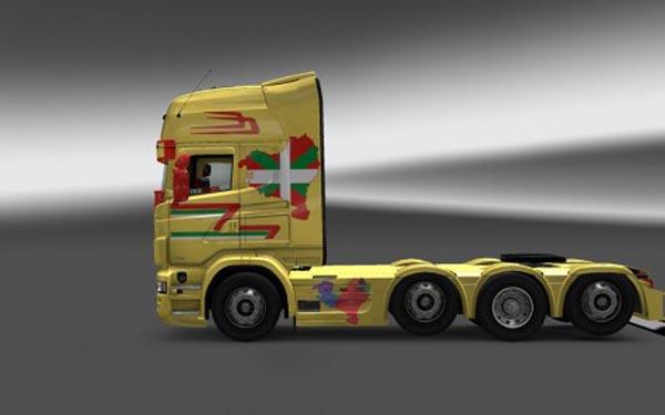 Scania Basque Country Skin