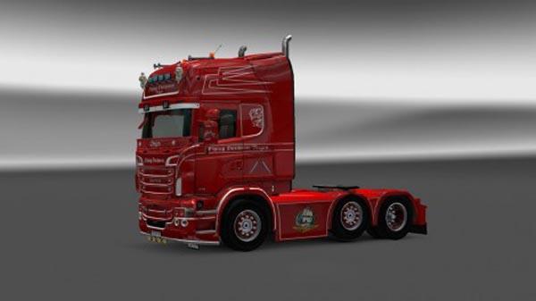 Scania Flying Dutchman Bergen Skin
