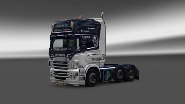 Scania Global Logistic Company Skin
