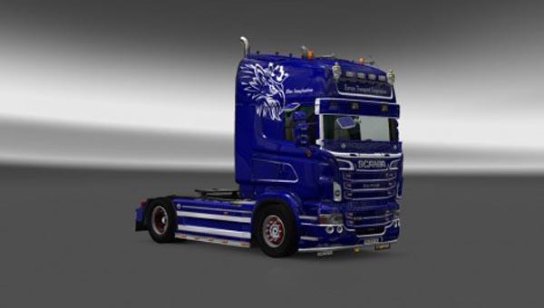 Scania RJL Europe Transport Corporation Skin