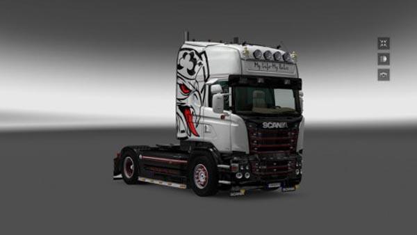 Scania RJL My Life My Rules Skin