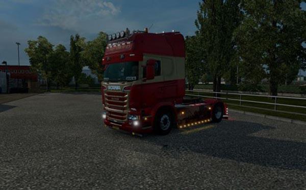 Scania RJL The Viking Paintjob