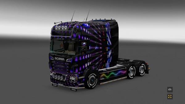 Scania RS EXC Longline (RJL) Disco Skin